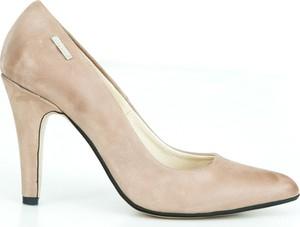 Szpilki Zapato ze spiczastym noskiem w stylu klasycznym ze skóry