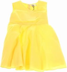 Żółta sukienka dziewczęca J.o. Milano