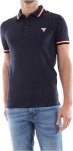 Koszulka polo Guess w stylu casual z krótkim rękawem
