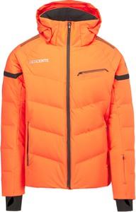 Pomarańczowa kurtka Descente z tkaniny