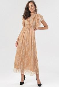Sukienka born2be z krótkim rękawem