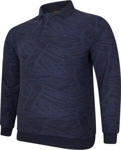 Niebieska bluza Bigsize