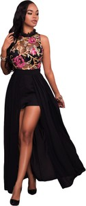 Elegrina elegancka sukienka shania czarna