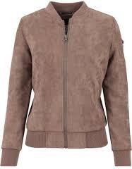 Brązowa kurtka Urban Classics w stylu casual krótka