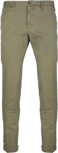 Zielone spodnie Pt01 z bawełny