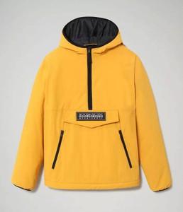 Żółta kurtka Napapijri w stylu casual krótka