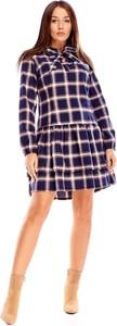 Sukienka N/A z długim rękawem w stylu casual mini