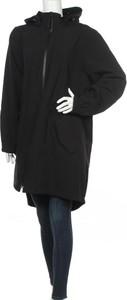 Czarna kurtka Zizzi długa w stylu casual