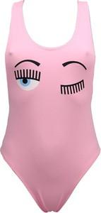 Różowy strój kąpielowy Chiara Ferragni Collection