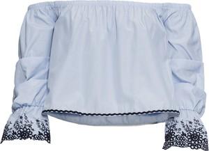 Bluzka bonprix BODYFLIRT hiszpanka z długim rękawem w stylu boho