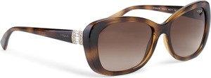 Brązowe okulary damskie Vogue