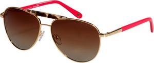 Czerwone okulary damskie Vermari