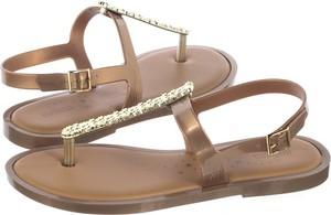 Brązowe sandały Melissa