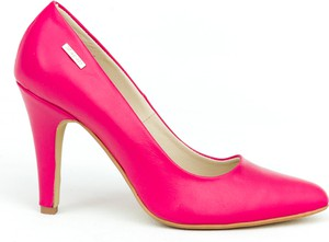 Szpilki Zapato ze spiczastym noskiem na wysokim obcasie ze skóry
