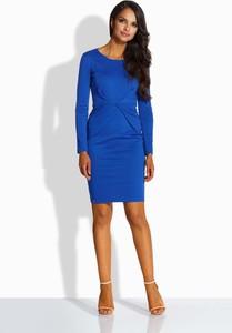 Niebieska sukienka Lemoniade z okrągłym dekoltem mini