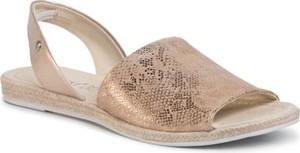 Złote sandały Lasocki