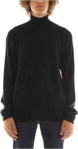 Czarny sweter Jil Sander w stylu casual