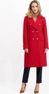 Płaszcz Lavard w stylu casual z wełny