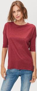 Czerwona bluzka FEMESTAGE Eva Minge z dżerseju