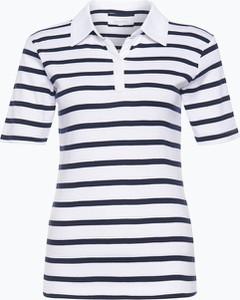 Czarny t-shirt brookshire z krótkim rękawem w stylu casual z dżerseju