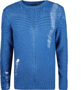 """Niebieski sweter Diesel Sweter """"k-cage"""""""