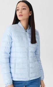 Niebieska kurtka House krótka w stylu casual
