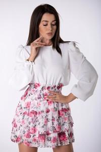Bluzka Ptakmoda.com z tkaniny z długim rękawem