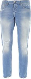 Jeansy Dondup z jeansu