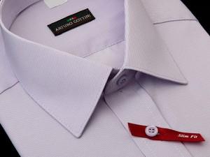 Koszula krawatikoszula.pl z krótkim rękawem w elegenckim stylu z tkaniny