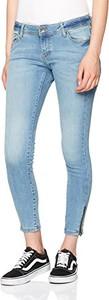 Niebieskie jeansy Vero Moda w młodzieżowym stylu