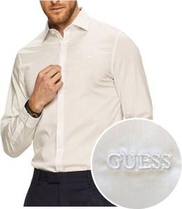 Koszula Guess z klasycznym kołnierzykiem