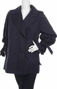 Granatowy płaszcz Banana Republic w stylu casual