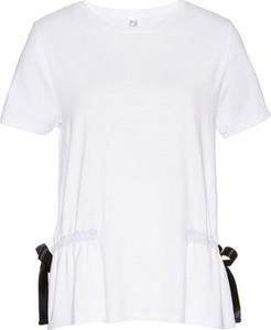 T-shirt bonprix bpc selection z bawełny z krótkim rękawem w stylu casual