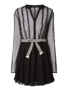 fa836b808c Sukienki z tiulu w koronkowe wzory