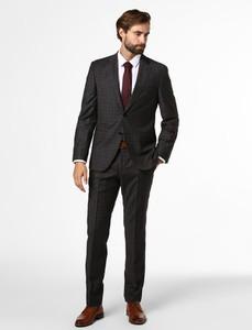 Czarny garnitur Boss