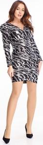 Sukienka Ptakmoda.com wyszczuplająca mini