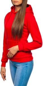 Czerwona bluza Denley