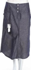 Niebieska spódnica Walter w stylu casual midi