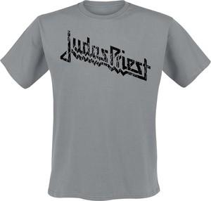 T-shirt Judas Priest z bawełny