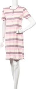 Sukienka Schiesser mini z krótkim rękawem