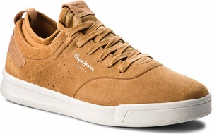 Sneakersy PEPE JEANS - Btn 01 PMS30471 Cognac 879