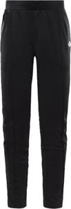 Czarne spodnie The North Face z dresówki