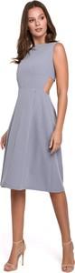 Sukienka Merg z odkrytymi ramionami midi