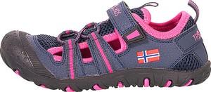 Niebieskie buty dziecięce letnie Trollkids