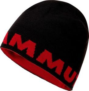 Czarna czapka Mammut