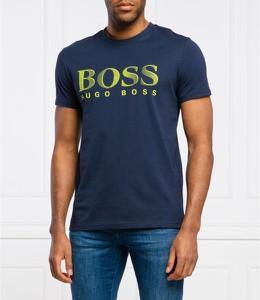 Niebieski t-shirt Hugo Boss