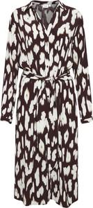 Sukienka Saint Tropez w stylu casual maxi z długim rękawem