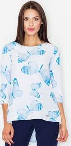 Bluzka Figl z okrągłym dekoltem w stylu casual