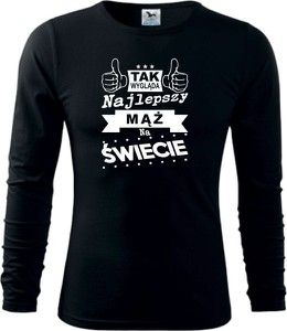 Koszulka z długim rękawem TopKoszulki.pl z długim rękawem