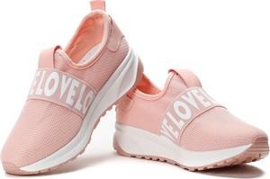 Różowe buty sportowe Royalfashion.pl